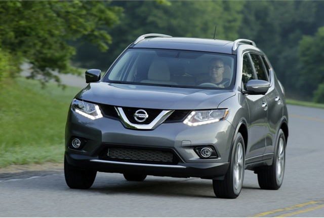 Photo of 2014 Nissan Rogue courtesy of Nissan.