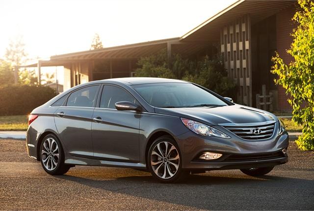 Photo of 2014 Hyundai Sonata courtesy of Hyundai.