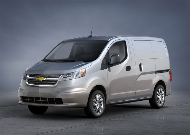The 2015-MY Chevrolet City Express. Photo courtesy GM.
