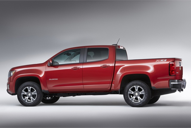 Photo of Chevrolet Colorado courtesy of General Motors.