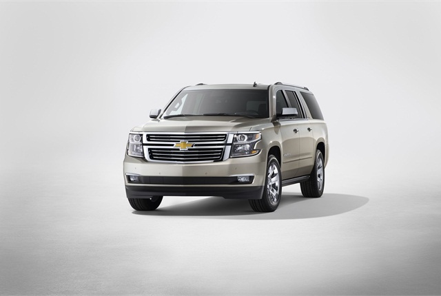 The 2015 Chevrolet Suburban. Photo courtesy GM.