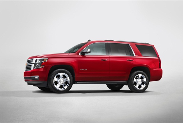 Photo of 2015 Chevrolet Tahoe courtesy of General Motors.
