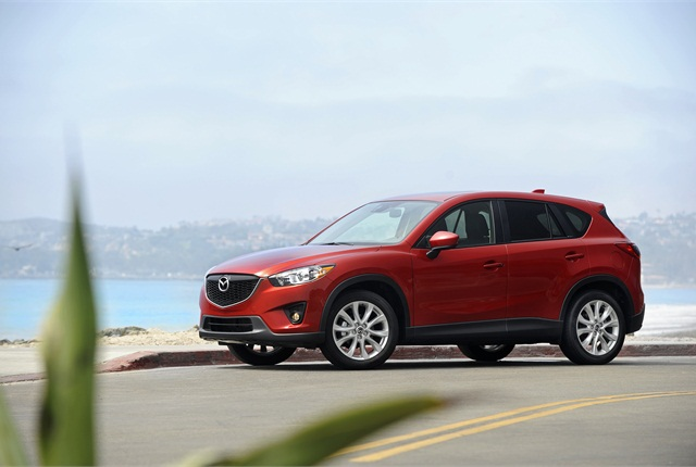 Photo of Mazda CX-5 SUV courtesy of Mazda.
