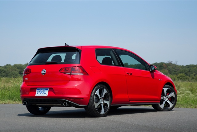 Photo of 2015 Volkswagen Golf courtesy of Volkswagen.