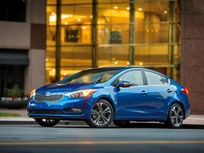 2015 Kia Forte Earns 5-Star Safety Rating