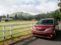 Toyota Sienna Minivans Recalled for Injury Risk