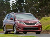 Toyota Recalls Sienna Minivans for Seat Belts