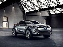 Toyota Shows Hybrid Concept Crossover