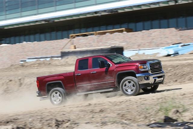 Photo of 2015 Sierra HD truck courtesy of General Motors.