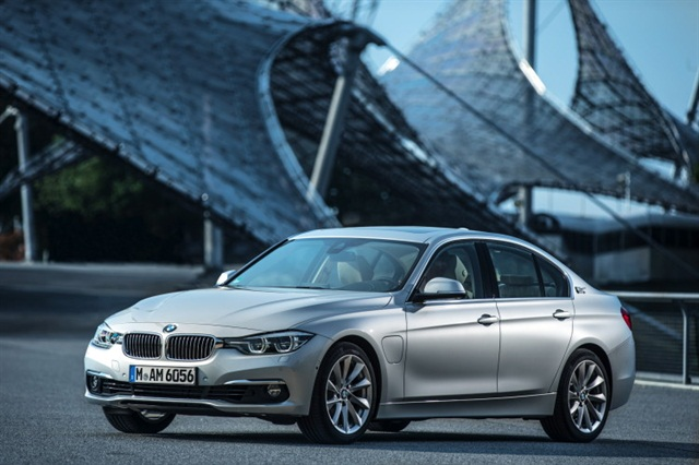 2016 BMW 330e Hybrid Photo courtesy of BMW