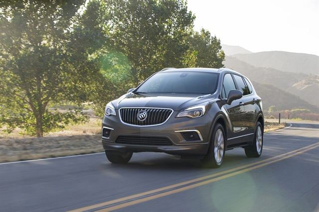 Photo of 2016 Envision courtesy of Buick.