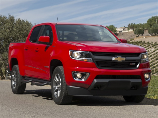 Compact pickups like the Chevrolet Colorado increased 14.6% in wholesale value compared to last May. Photo courtesy of GM.