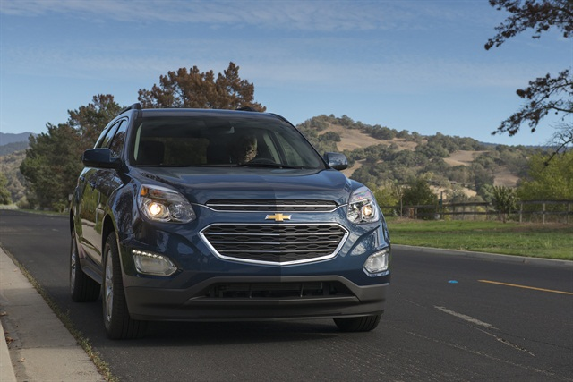 The 2016 Chevrolet Equinox, photo courtesy of the automaker.
