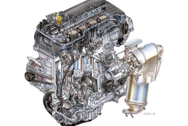 Photo of 1.4L Ecotec courtesy of GM.