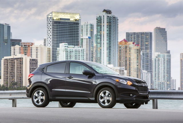 Photo of 2016 Honda HR-V courtesy of Honda.