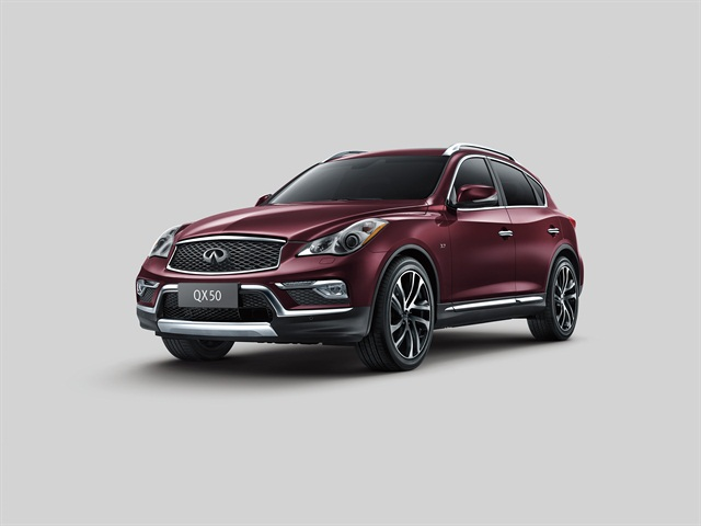 Photo of 2016 QX50 courtesy of Infiniti.