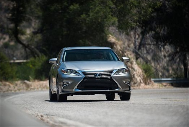Photo of Lexus ES 350 courtesy of Toyota.