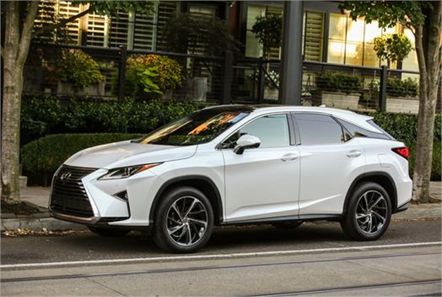 Photo of Lexus RX 350 courtesy of Lexus.