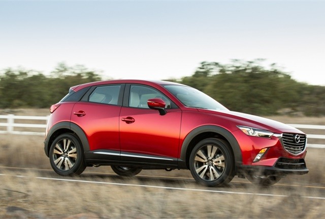 Photo of Mazda CX-3 courtesy of Mazda.