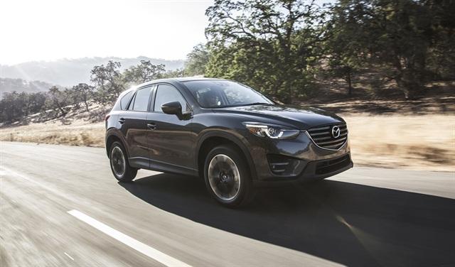 Photo of 2016 CX-5 courtesy of Mazda.