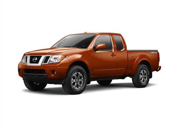 Photo of Nissan Frontier courtesy of Nissan.
