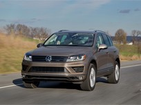Volkswagen Touaregs Recalled for Tire Monitoring