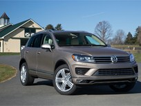 Fire Risk Prompts Volkswagen Touareg Hybrid Recall