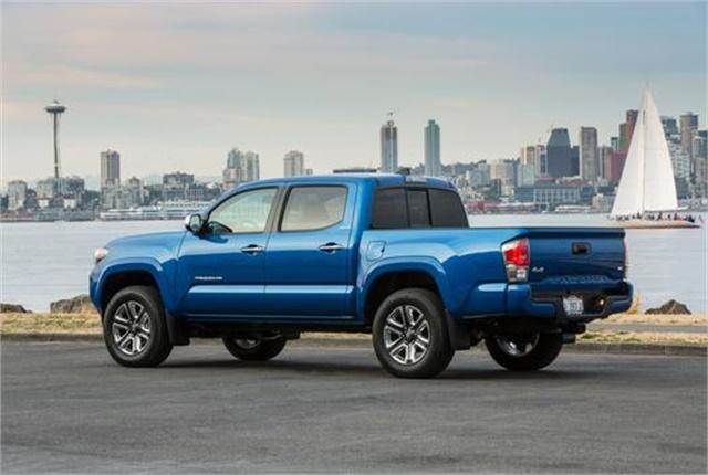 Photo of Toyota Tacoma courtesy of Toyota.