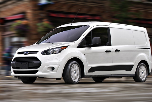 The Ford Transit Connect is among the models covered by the recall. Photo courtesy of Ford.