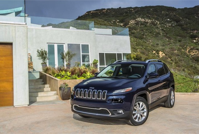 Photo of 2016 Jeep Cherokee courtesy of FCA US.