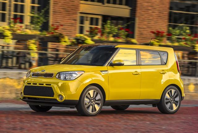Photo of 2016 Kia Soul courtesy of Kia Motors.