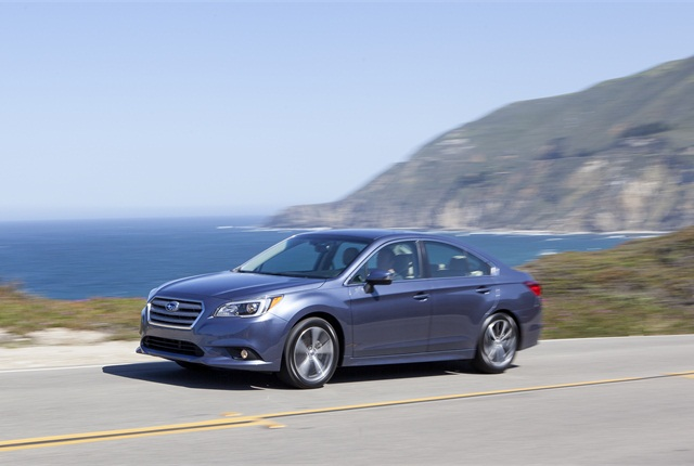 Photo of Subaru Legacy courtesy of Subaru.