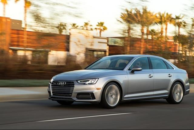 Photo of Audi A4 courtesy of Audi.