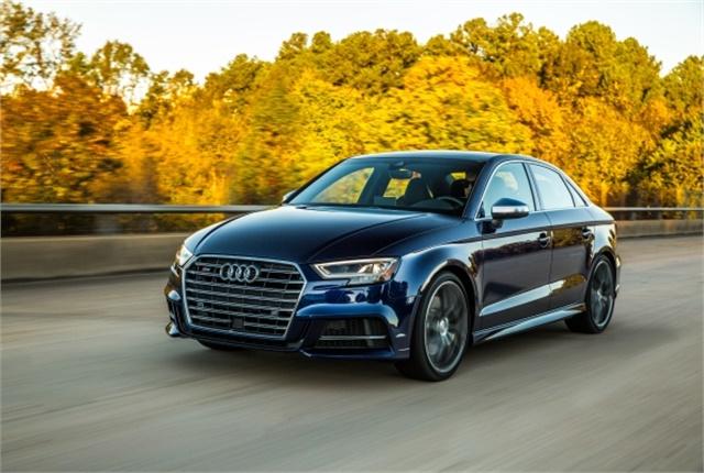 Photo of Audi S3 Sedan courtesy of Audi.