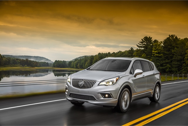 Image of 2017 Buick Envision courtesy of GM.