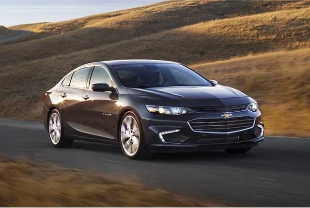 Photo of Chevrolet Malibu courtesy of GM.