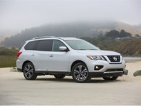 Nissan Pathfinder Draws 5-Star Safety Rating