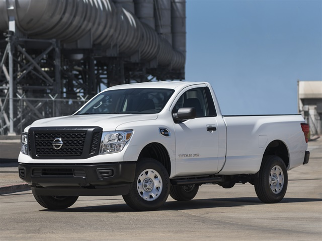 Photo of 2017 Titan XD S Single Cab courtesy of Nissan.