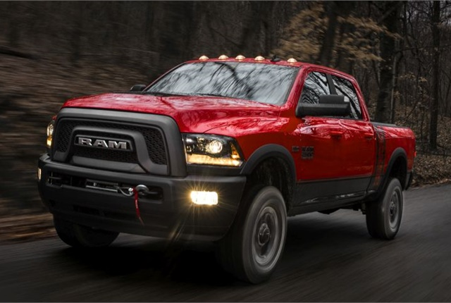 Photo of 2017 Ram Power Wagon courtesy of FCA.