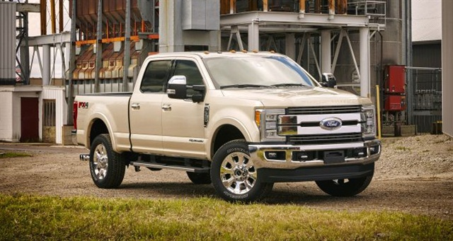 Ford's 2017 Super Duty Photo: Ford