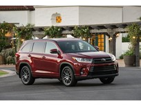 Toyota Highlander Named Top Safety Pick+