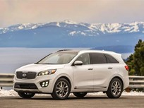 Kia Sorento Wins Top Honor for Crashworthiness