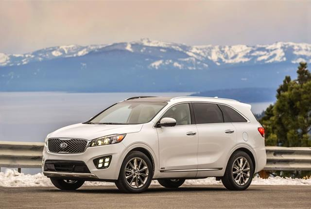Photo of Kia Sorento courtesy of Kia Motors.