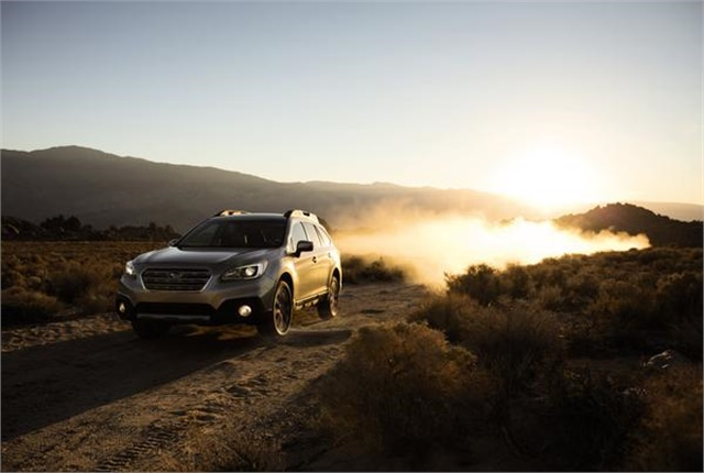 Photo of Subaru Outback courtesy of Subaru.