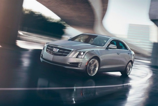 Photo of the 2017 Cadillac ATS Sedan courtesy of GM.