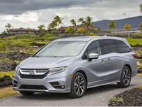 Honda Odyssey Captures Top IIHS Safety Award