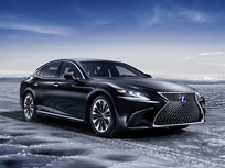 Lexus Flagship Sedan Gets Hybrid Model