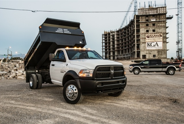 Image of 2018 Ram 5500 Chassis Cab courtesy of FCA