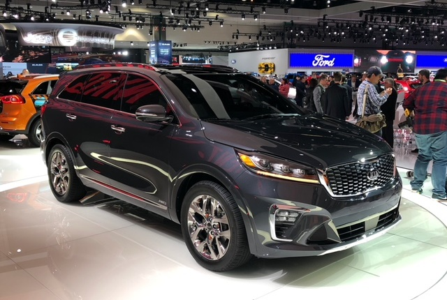 Photo of 2019 Kia Sorento by Paul Clinton.