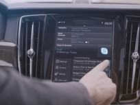Volvo Adds Skype to its 90 Series Vehicles